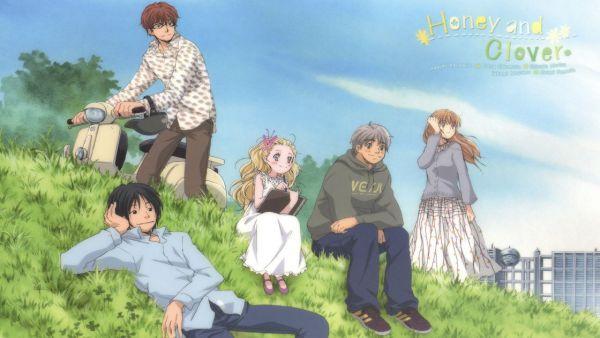 Hachimitsu to Clover (Honey and Clover) anime hài lãng mạn
