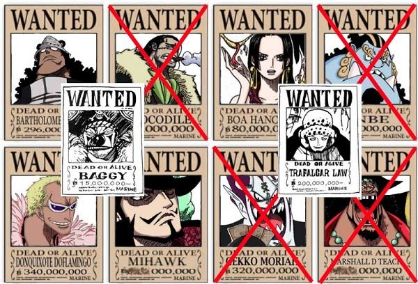 Sự thay thế cho Shichibukai là gì? One Piece  956