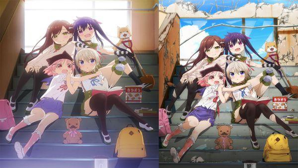 School-Live! anime sinh tồn hay nhất mọi thời đại