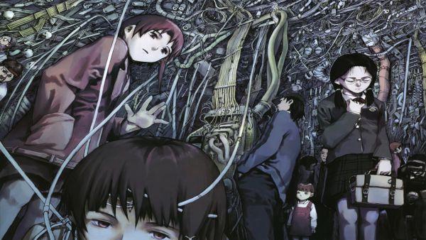 Serial Experiment Lain anime kinh dị