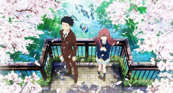 Koe no Katachi   A Silent Voice  anime lãng mạng học đường