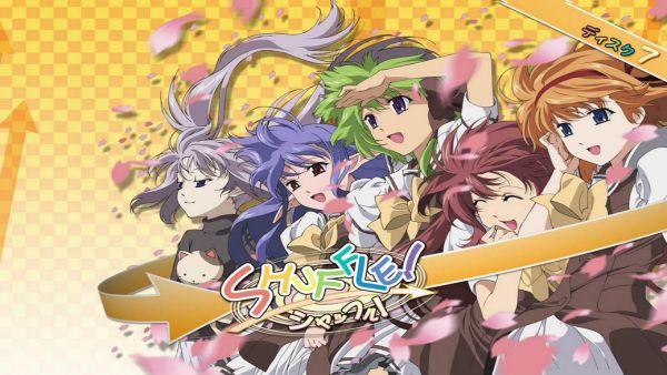 Shuffle anime hậu cung
