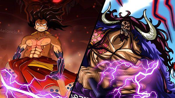 Luffy có thể ngang hàng với Kaido nếu Haki Bá Vương của Luffy tăng lên!