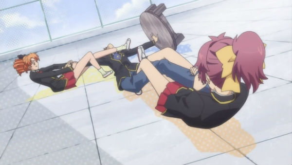 Baka to Test to Shoukanjuu anime hài hước