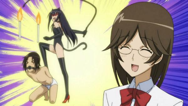 Seitokai Yakuindomo anime bẩn bựa
