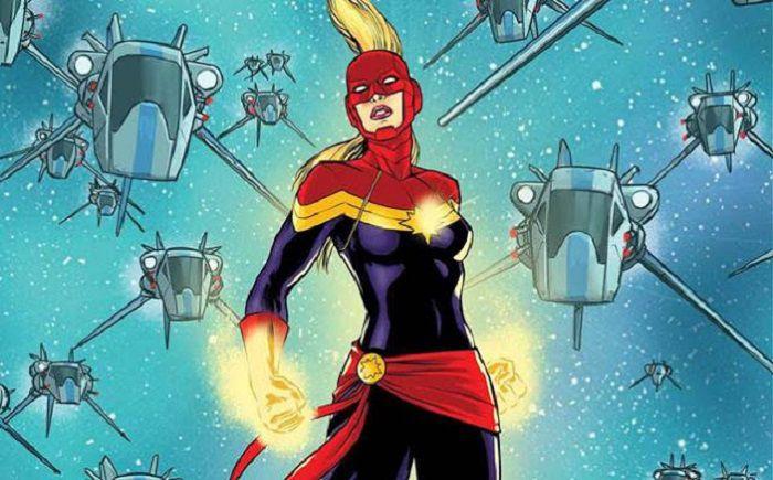 Trở thành Ms. Marvel  trước Captain Marvel