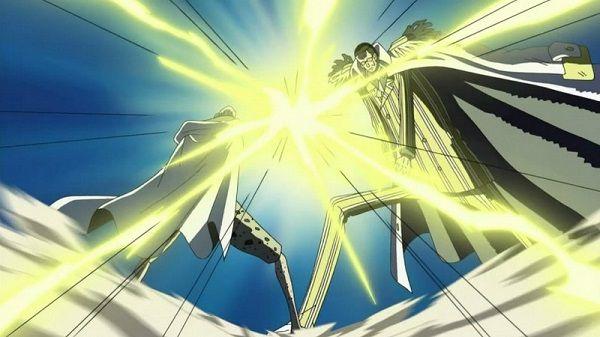 Kizaru Không thể đánh bại Silver Rayleigh