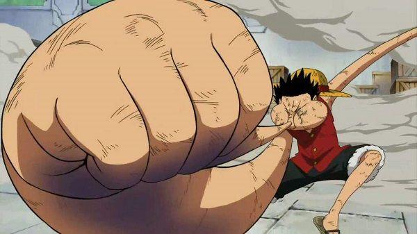 Luffy  Gear 3