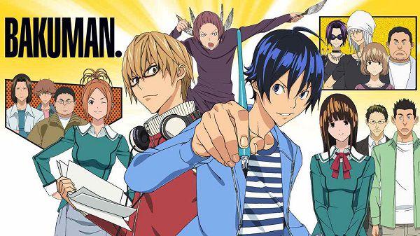 Bakuman anime hài lãng mạn