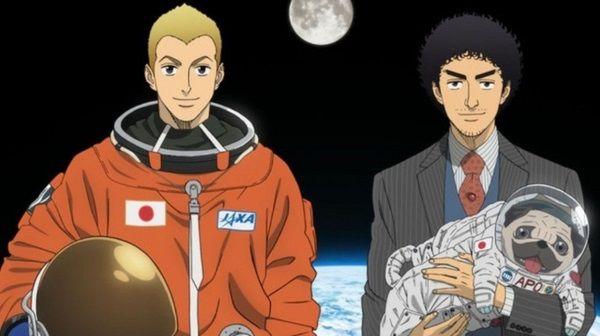 Space Brothers Anime với cốt truyện tổng thể hay nhất