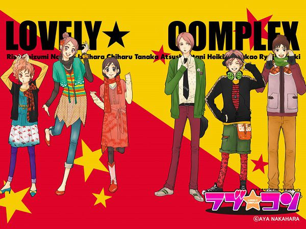 Lovely Complex anime hài lãng mạn