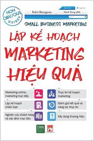 Lập Kế Hoạch Marketing  Hiệu Quả sách marketing hay nhất mọi thời đại
